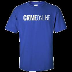 Crime Online Royal Blue Tee