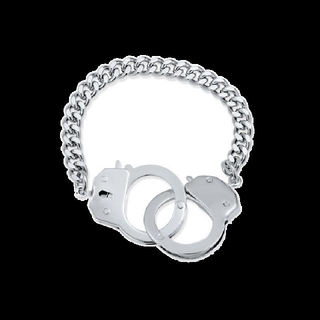 Nancy Grace Handcuff Bracelet