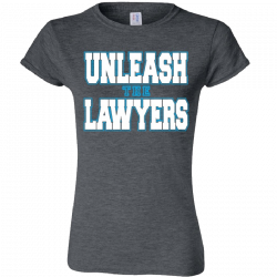 Nancy Grace Ladies Heather Grey Tee