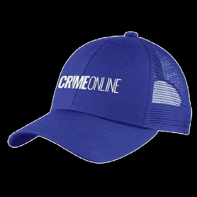 Crime Online Royal Blue Ballcap