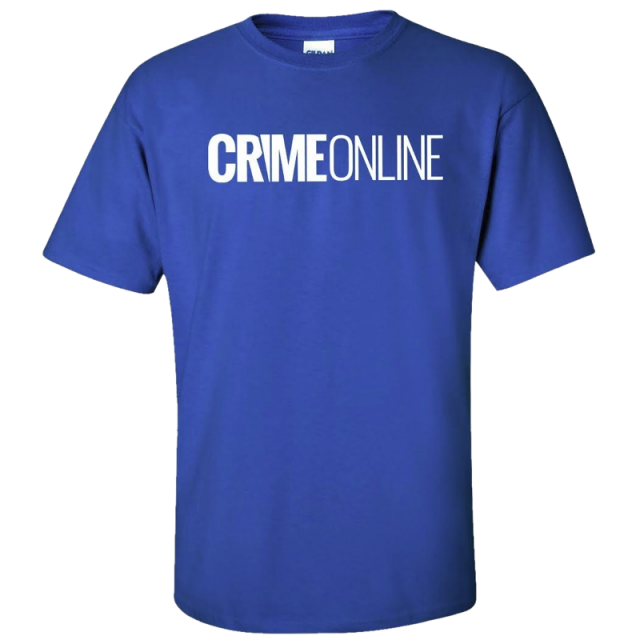 Crime Online Royal Blue Tee